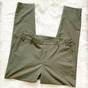 Kit and Ace Ivy Green The Main Silk Wool Suiting Trouser Pants